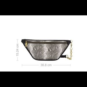Fossil Bags - NWT Fossil Belt Bag Python Print
